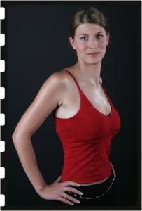 Kreatív portfólió fotózás - Modell Nr.I