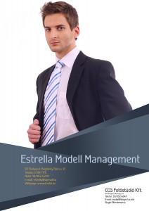 modellfotózás portfólió készítés férfi modellek 1