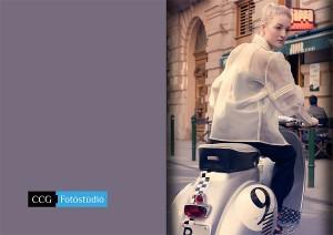 divatvalóság divatfotózás vespa 2