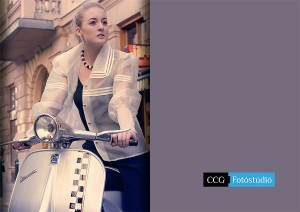 divatvalóság divatfotózás vespa 1